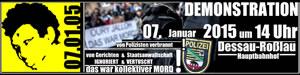 10. Jahrestag: Oury Jalloh - das war Mord
