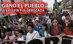 """""""Ley Pulpin"""" in Peru abgelehnt!"""