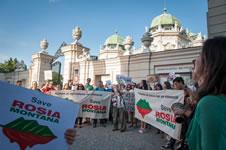 Protest gegen Rosia Montana in Rumänien