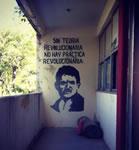 Protest gegen das Verschwinden der 43 Studenten in einer mexikanischen Schule