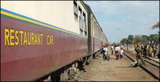 """""""Kupferbahn"""" von Sambia und Congo nach Tansania"""