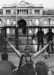 Protest gegen die argentinische Militärdiktatur