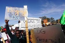 Streik der Beschäftigten der Société Nationale Industrielle et Minière (SNIM) in Mauretanien