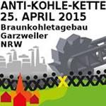 Anti-Kohle-Menschenkette am 25.04.2015