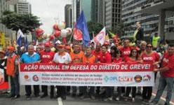 Brasilianische Gewerkschaften mobilisieren gemeinsam gegen Reformen der Arbeitsgesetze