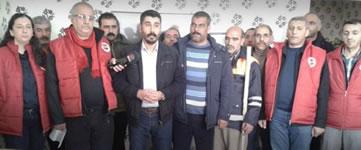 DISK Diyarbakır: Wir helfen Kobanê wieder aufbauen!