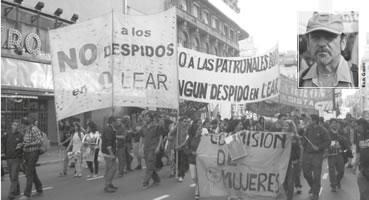 Eine erstarkte Arbeiterbewegung in Argentinien - in der ila Nummer 382 Ausgabe Februar 2015