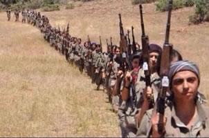 kurdische KämpferInnen