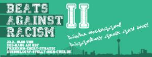 beats against racism: düsseldorf stellt sich quer
