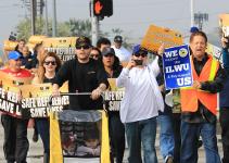 US-Ölarbeiter-Streikdemo