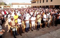 Kundgebungen der Solidarität mit den Streiks in Togo