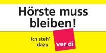 ver.di: Hörste muss bleiben!
