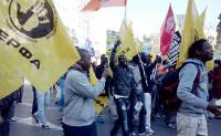 Antirassimusdemo in Athen
