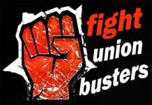 Fight Union Busters!