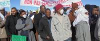 demo gegen fracking algerien