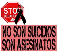 Plakat der Würdemärsche in Spanien: Wir sind keine Selbstmörder