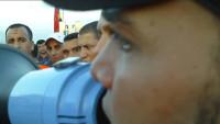 Italienische Logistikarbeiter im Streik