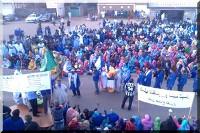 Solidemo erzarbeiter mauretanien