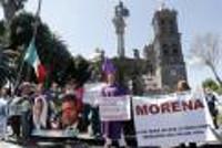 Demo gegen Wasserprivatisierung Mexiko