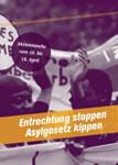 10.4. - 18.4.2015: Aktionswoche gegen Asylgesetzverschärfung