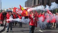 Streikdemonstration Lüttich