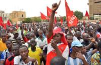 Demonstration gegen Teuerung in Burkina Faso