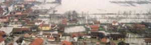 Nach der Flut viel Wasser in Bosnien