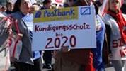 Postbank: Tarifverhandlungen um Kündigungsschutz