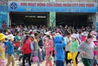 Schuharbeiterstreik in Vietnam