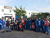 Cobas-Streik in Brescia