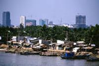 Stadtansicht Ho Chi Minh Stadt