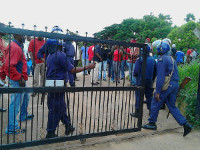 Protest in Swasiland