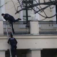 Uni Athen Polizeiangriff