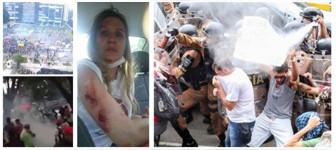 Polizei gegen Lehrer in Brasilien