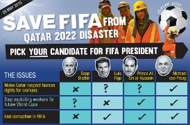 Kampagne Blatter abwählen Mai 2015