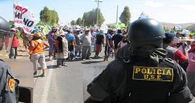 Protest gegen Tia Maria