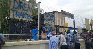Evrensel: Streik bei Türk Traktör im Mai 2015