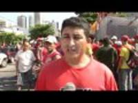 Bauarbeiterstreik Olympia Rio Mai 2015