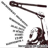 buerendemo.blogsport.de: Abschiebehaft abschaffen - Demo am 30.Mai 2015