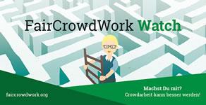 faircrowdwork.org: Community, Beratung und Hilfe für Crowdworker. Für faire Arbeit in der Cloud!