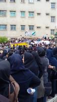 Lehrerinnen Irans im Streik