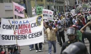 Peru: Neue Mobilisierung gegen Tia Maria