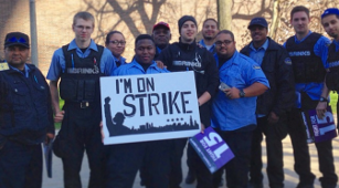 Der Streik bei Brinks am 15. April
