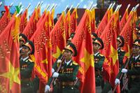 Sozialistische Militärparade