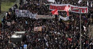 Studentendemos in Santiago gehen weiter im Mai 2015