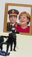 3.6.2015: Keine deutsche Polizeihilfe für den Folterstaat Ägypten! Kundgebung gegen den ägyptischen Präsidenten el-Sisi in Berlin