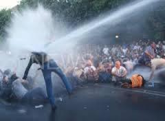 Polizeiüberfall auf Strompreisdemo in Eriwan am 22. Juni 2015