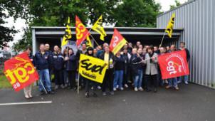 Poststreik Nordfrankreich Juni 2015