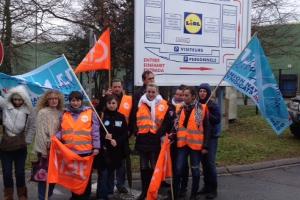 Lidl-Streik in Frankreich 2014