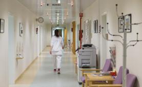 Krankenschwester in Island nach dem streik im Juni 2015